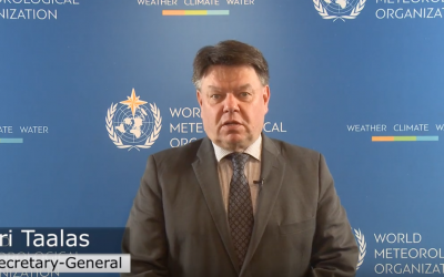 Message from WMO Secretary-General on World Water Day